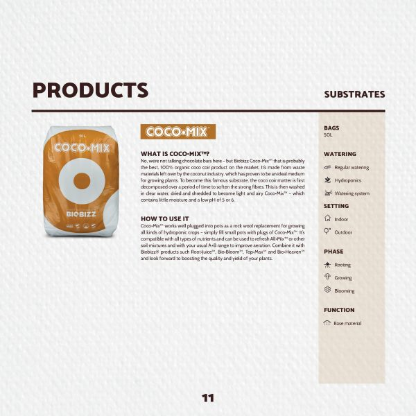 Biobizz Coco Mix 50L