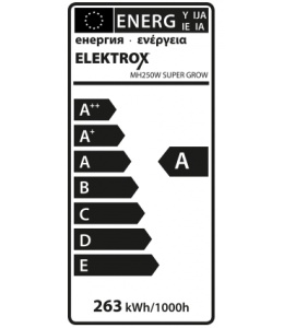 Elektrox 250W MH Grow