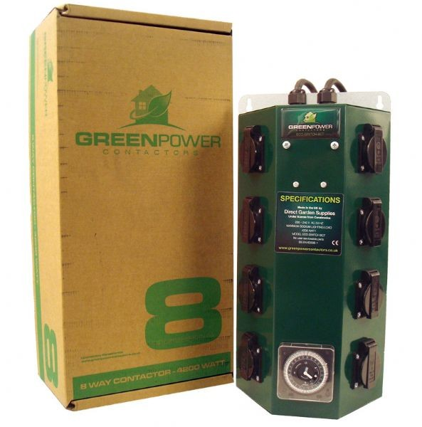 Greenpower Timer 7x600W