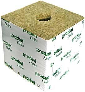 Kamena volna 7.5×7.5×6.5cm majhna luknja