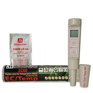 Milwaukee EC60 Pocket Size EC/TDS/Temp Meter