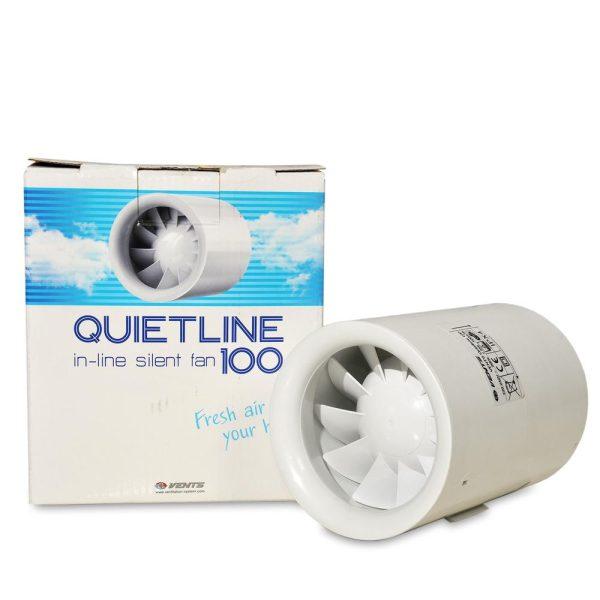 Set QuietLine 100 + Filter + Alu cev
