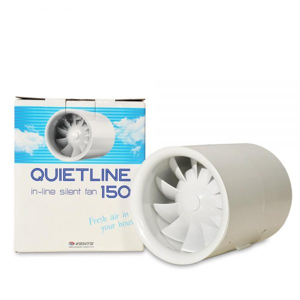 Set QuietLine 150 + Filter + Alu cev