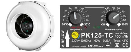 Prima Klima PK125-TC