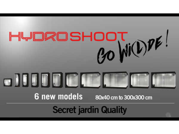 Secret Jardin Hydro Shoot – HS60 –  60x60x160 cm