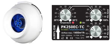 Prima Klima PK250EC-TC