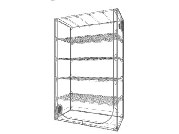 Secret Jardin Dark Propagator – DP120 – 120x60x190cm