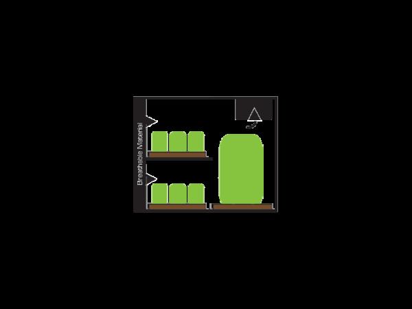 Secret Jardin Dark Propagator – DP90 – 90x60x100 cm