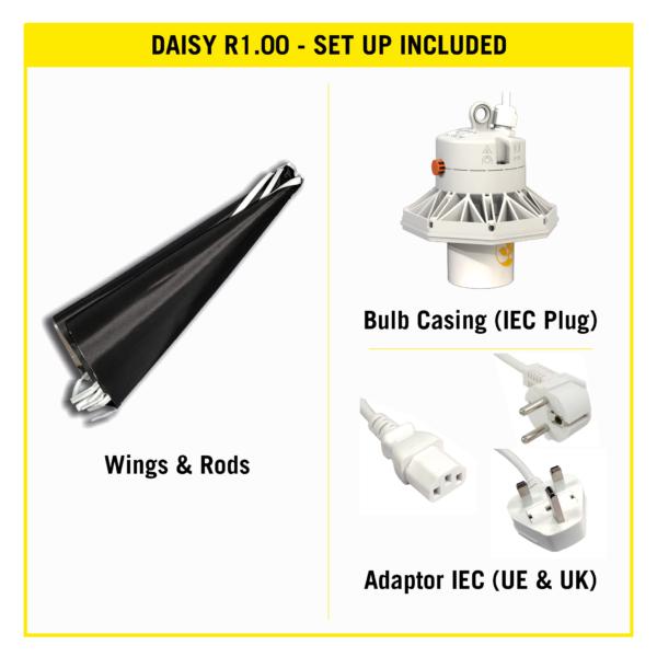 Secret Jardin – DY60 – Daisy Reflector Ø60cm