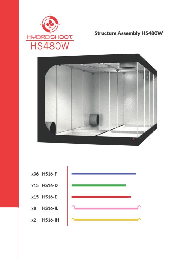 Secret Jardin Hydro Shoot – HS480w – 475x240x200cm