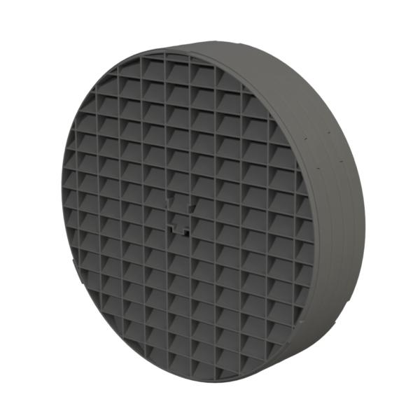 Secret Jardin – Ducting Flange Connector/Light Baffle With Mesh – DFØ16-Ø19mm