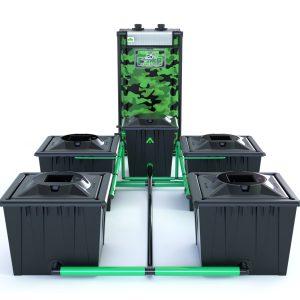 Alien Hydroponics – Rdwc 36L Black Series – 4 Bucket System