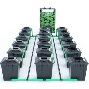 Alien Hydroponics – Rdwc 20L Black Series – 21 Bucket System