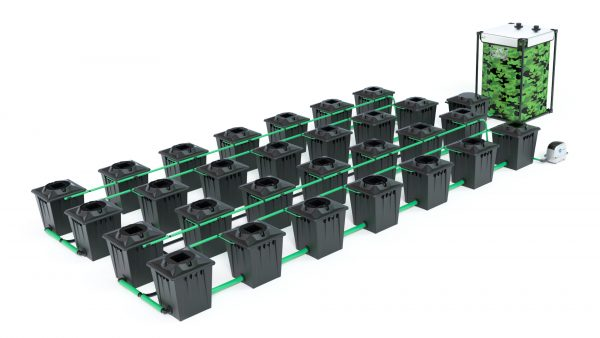 Alien Hydroponics – Rdwc 20L Black Series – 28 Bucket System