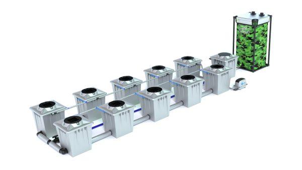 Alien Hydroponics – Rdwc 20L Pro Silver Series – 10 Bucket System