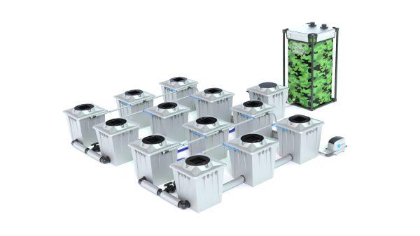 Alien Hydroponics – Rdwc 20L Pro Silver Series – 12 Bucket System