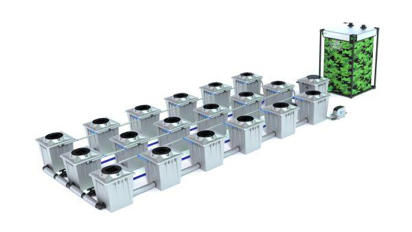 Alien Hydroponics – Rdwc 20L Pro Silver Series – 18 Bucket System