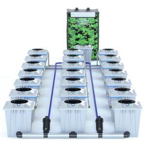 Alien Hydroponics – Rdwc 20L Pro Silver Series – 21 Bucket System