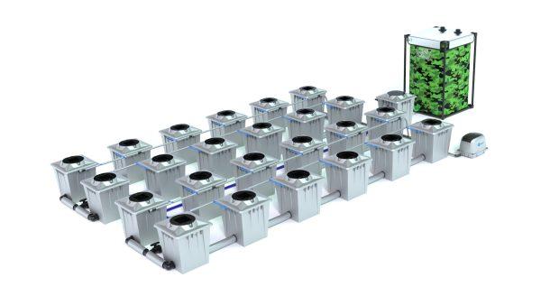 Alien Hydroponics – Rdwc 20L Pro Silver Series – 24 Bucket System