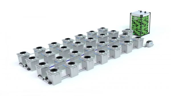 Alien Hydroponics – Rdwc 20L Pro Silver Series – 28 Bucket System