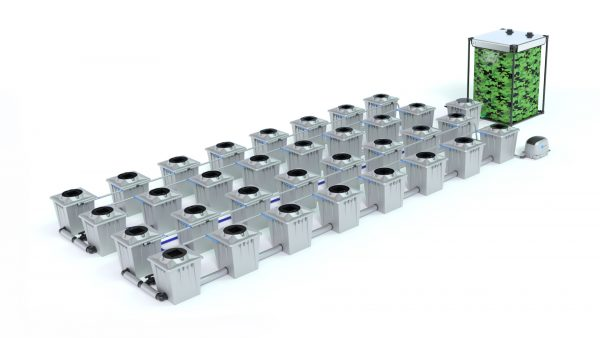 Alien Hydroponics – Rdwc 20L Pro Silver Series – 32 Bucket System