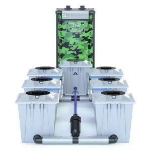 Alien Hydroponics – Rdwc 20L Pro Silver Series – 6 Bucket System