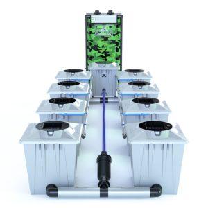 Alien Hydroponics – Rdwc 20L Pro Silver Series – 8 Bucket System