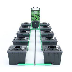 Alien Hydroponics – Rdwc 20L Black Series – 10 Bucket System