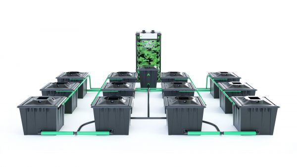 Alien Hydroponics – Rdwc 20L Black Series – 12 Bucket System