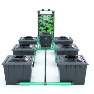 Alien Hydroponics – Rdwc 36L Black Series – 6 Bucket System