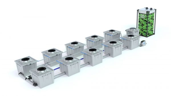 Alien Hydroponics – Rdwc 36L Pro Silver Series – 10 Bucket System