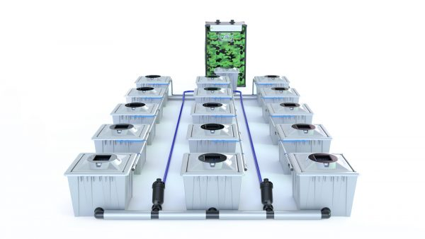 Alien Hydroponics – Rdwc 36L Pro Silver Series – 15 Bucket System