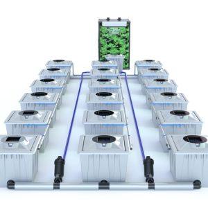 Alien Hydroponics – Rdwc 36L Pro Silver Series – 18 Bucket System