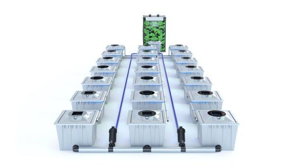 Alien Hydroponics – Rdwc 36L Pro Silver Series – 21 Bucket System