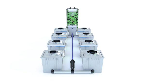 Alien Hydroponics – Rdwc 36L Pro Silver Series – 8 Bucket System